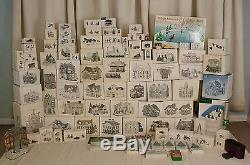 102 Dept 56 + 134 Extras Little Jimmy Dickens' Personal Christmas Village