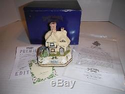 1994 David Winter Cottage Spring Hollow Premier withCoa &Bx Limted Edit 1319/3500