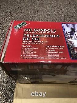 2000 Lemax Ski Gondola-Rare- Works- Read Description