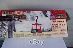 2000 Lemax Village Collection SKI GONDOLA Christmas, Winter, Snow, Skiing