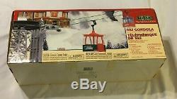 2000 Lemax Village Collection SKI GONDOLA Christmas, Winter, Snow, Skiing