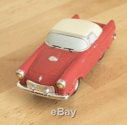 2001 Lemax Village Collection with 2-way Road Battery Powered Classic Car Set