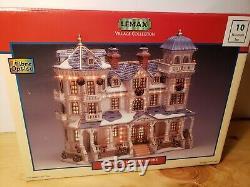 2002 LEMAX Village Collection BEAUMONT INN FIBRE OPTICS RARE