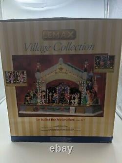 2010 Lemax Carole Towne Nutcracker Suite RARE Animated Christmas Village