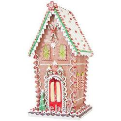 26 Lighted Gingerbread House