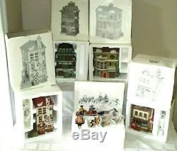 28+-dept 56-dickens Village Series Buildings-heritage-christmas-new England-lot