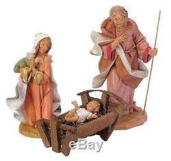 3-Piece Fontanini 12 Holy Family Christmas Nativity Set #71911
