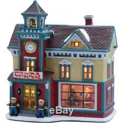 8.25 Toys For Tots House Christmas Village, Holiday Time (1)