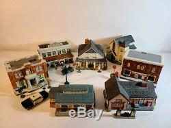 Andy Griffith Christmas Village Hawthorne. Beautiful Set withhard to find pieces