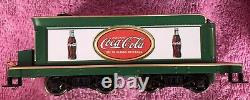Bachmann Hawthorne Village Bradford Exchange Coca Cola Train Set Mint
