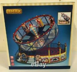 Brand New LEMAX VILLAGE COLLECTION Round Up Carnival Ride #24483 Free Shipping
