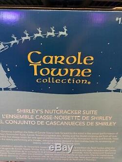 Carole Towne 2019 Shirleys Nutcracker Suite Christmas Village LED