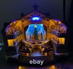 Carole Towne Lemax Christmas Village Animated Nutcracker Suite Opera LED Musical