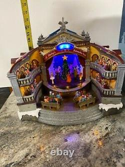 Carole Towne Lemax Christmas Village Animated Nutcracker Suite Opera LED Musical