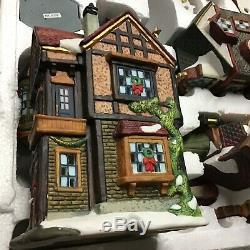 Christmas Grandeur Noel Victorian Village Lighted 1999 Vtg 39 Pieces Collector
