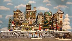 Christmas Snow Village Display Platform Base for Dept 56 Lemax 3 pc