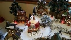 Christmas Village Display Platform for Lemax, Dept 56