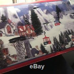 Christmas Village Lemax Ski Gondola NIB Rare