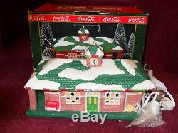 Coca-Cola 1992 TOWN SQUARE BUILDING TRAIN DEPOT