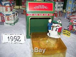 Coca Cola Town Square Village Complete 1992 Set with boxes