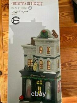DEPT 56 Christmas In The City MAGGIE'S ON PARK NIB