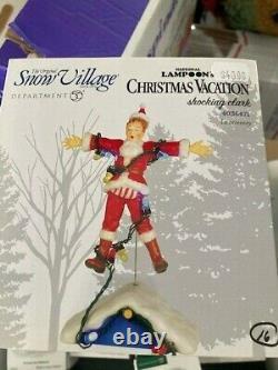 DEPT 56 SNOW VILLAGE NATIONAL LAMPOON Christmas Vacation SHOCKING CLARK NIB