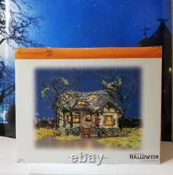 DEPT 56 Snow Village Halloween DEEP WOODS HAUNT! Spooky, Creepy, Hermit, Rare