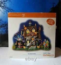 DEPT 56 Snow Village Halloween THE CANDY CAULDRON! Excellent, Complete