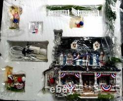 DEPT 56 Time To Celebrate 1776 LIBERTY LANE Rare, 4th of July, Fourth