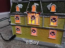 Disney Village Main Street USA Caseys Corner Original Box Disney World Rare Htf
