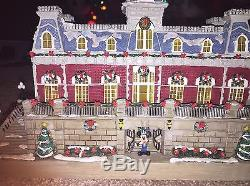Disney Village Main Street USA Train Station Original Box Disney World Rare Htf