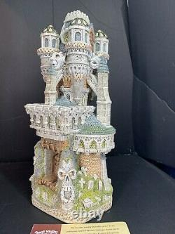 David Winter Cottages Haunted Houses Collection The Priory Of Lost Souls Signed