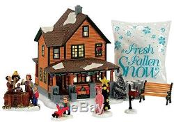 Department 56 4057055 Christmas Story Village Building Set, 10 x 9-1/2 x 13