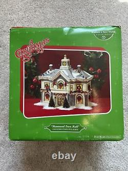 Department 56 A Christmas Story Village Hammond Town Hall