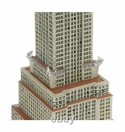 Department 56 Christmas City Village Chrysler Building Lit House Holiday 4030342