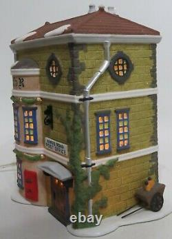Department 56 Dickens Village Retired Lot 6 Illuminated Lighted Christmas Houses