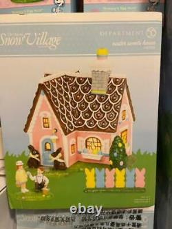 Department 56 Easter Sweets House #6002310 (NEW)