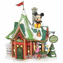 Department 56 Mickey Village North Pole Disney Mickey's Stuffed Animals 6007614