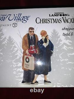 Department 56 National Lampoon's Christmas Vacation Shopping with Todd and Margo