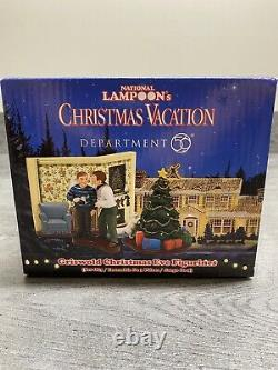 Department 56 National Lampoons Christmas Vacation Griswold Christmas Eve 3pc