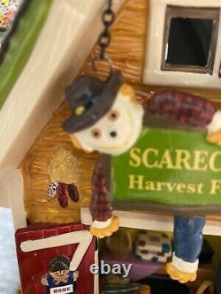 Department 56 Snow Village Halloween Scarecrow Harvest Festival