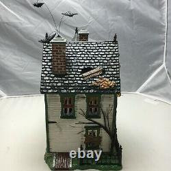 Department 56 Spooky Farmhouse The Original Snow Village Halloween #56.55315