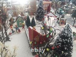 Department 56 snow village Large Collection