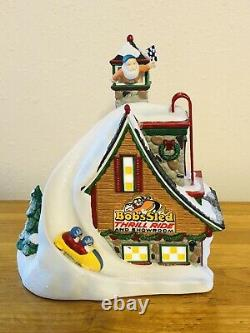 Department Dept 56 BOB'S SLED THRILL RIDE North Pole Series Village House Light