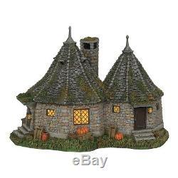 Dept 56 2018 Harry Potter Christmas Village Hagrid's Hut 6002312 NIB