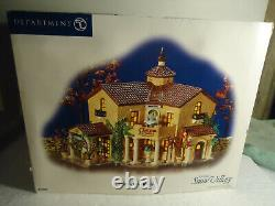 Dept 56 CHATEAU VALLEY WINERY