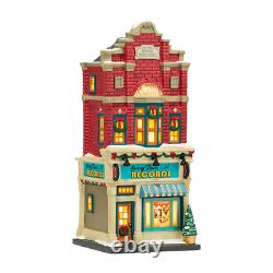 Dept 56 Christmas In The City SWING TOWN RECORDS 4036492 DEALER STOCK-NEW IN BOX