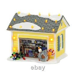 Dept 56 Christmas Vacation Set/7 GRISWOLD HOUSE, GARAGE, DAD, EDDIE, RV, RUSTY +