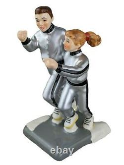 Dept 56 Christmas Vacation TODD AND MARGO JOGGING 4036580 RARE