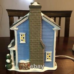 Dept 56 Christmas Vacation todd and margos house RARE RETIRED HTF